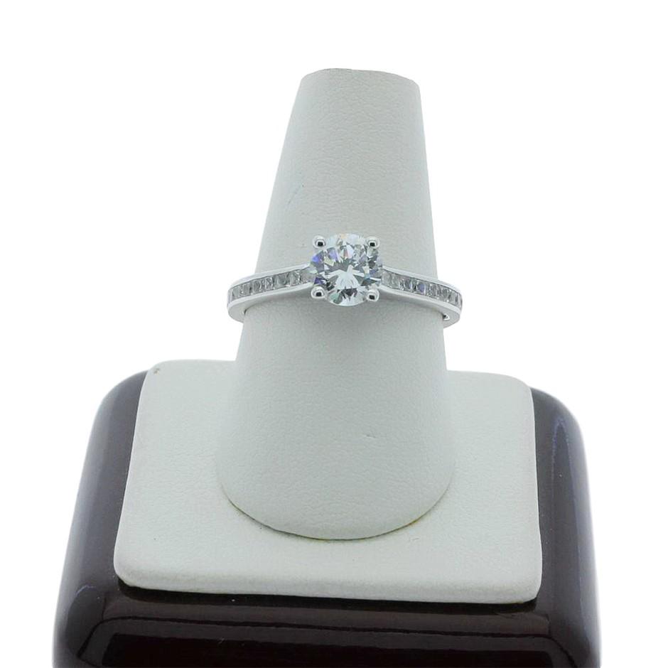 1.10 Carat Sterling Silver ring