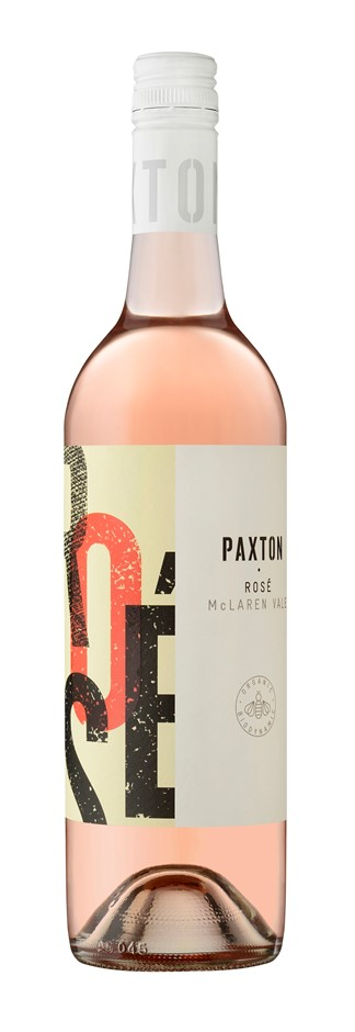 Paxton Rose 2019 (12x 750mL), McLaren Vale. Screwcap.