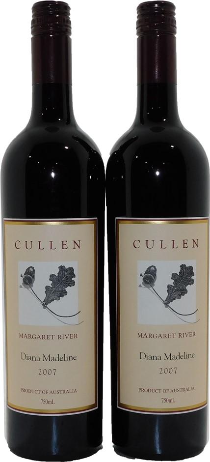Cullen Diana Madeline Cabernet Merlot 2007 (2x 750mL), Margaret River, WA.