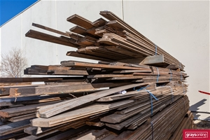 3x Packs of Assorted Recycled Timber Flo