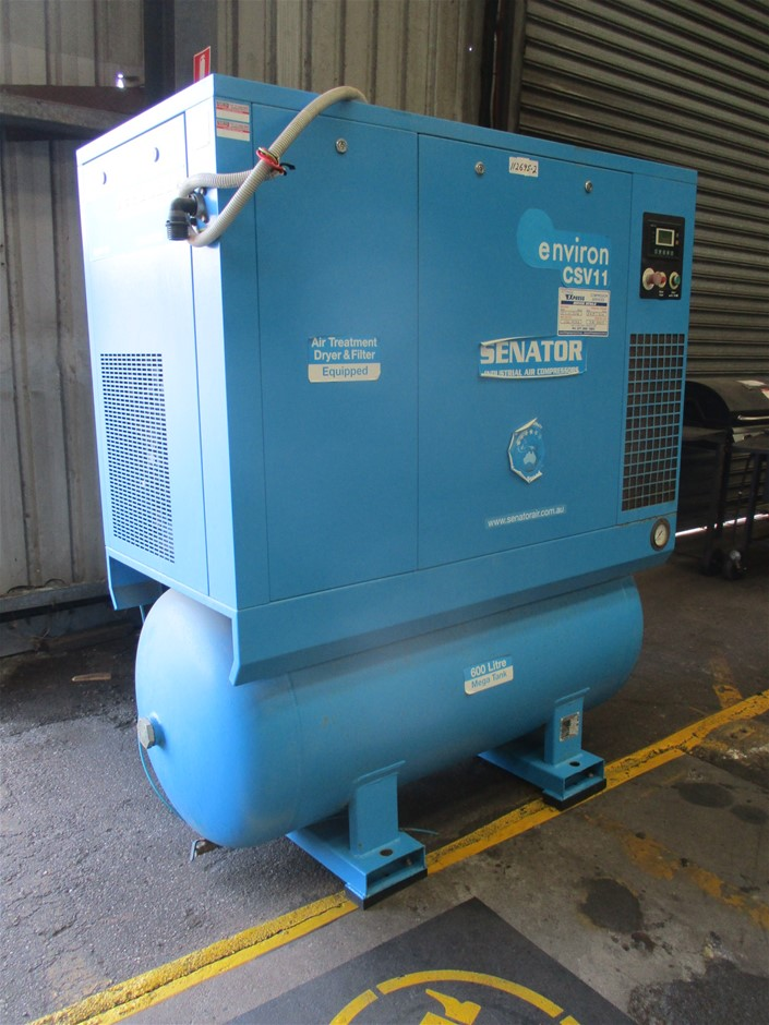 Senator Electric Rotary Screw Air Compressor
