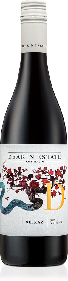 Deakin Estate Shiraz 2019 (12x 750mL).