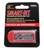 6 x Packs of 5 SMART-BIT Pre-Drilling Bits 30mm. Buyers Note - Discount Fre