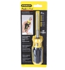 STANLEY Multi-Bit Screwdriver c/w 7 x Bits. Buyers Note - Discount Freight