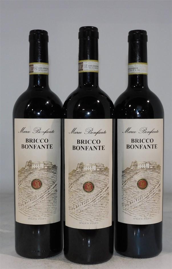 Bricco Bonfante 2012 (3x 750mL), Piedmont, Italy
