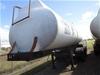 2000 GTE 3 Compartment Triaxle Tanker Trailer / Sulphuric Acid