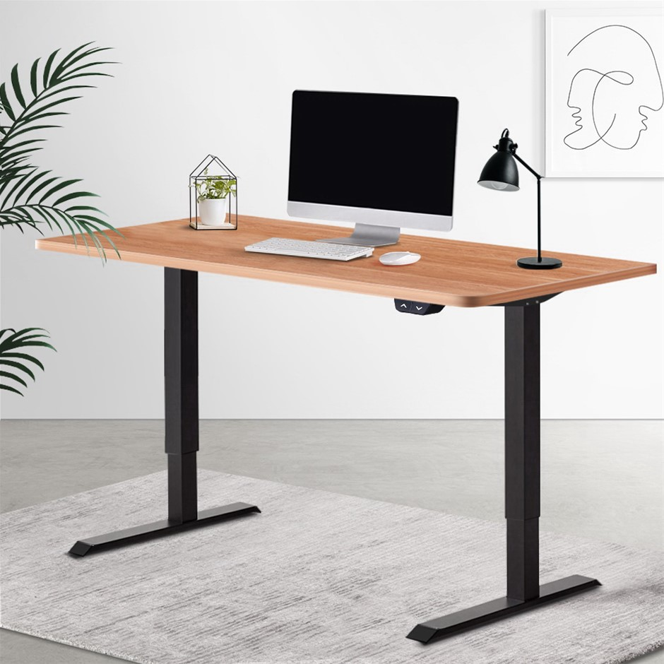 Artiss Standing Desk Sit Table Riser Height Adjustable Motorised Table