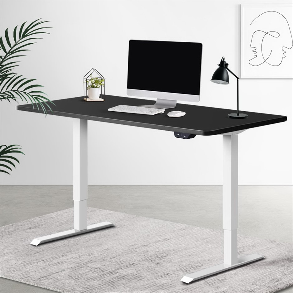 Artiss Standing Desk Motorised Electric Adjustable Sit Table Riser Computer