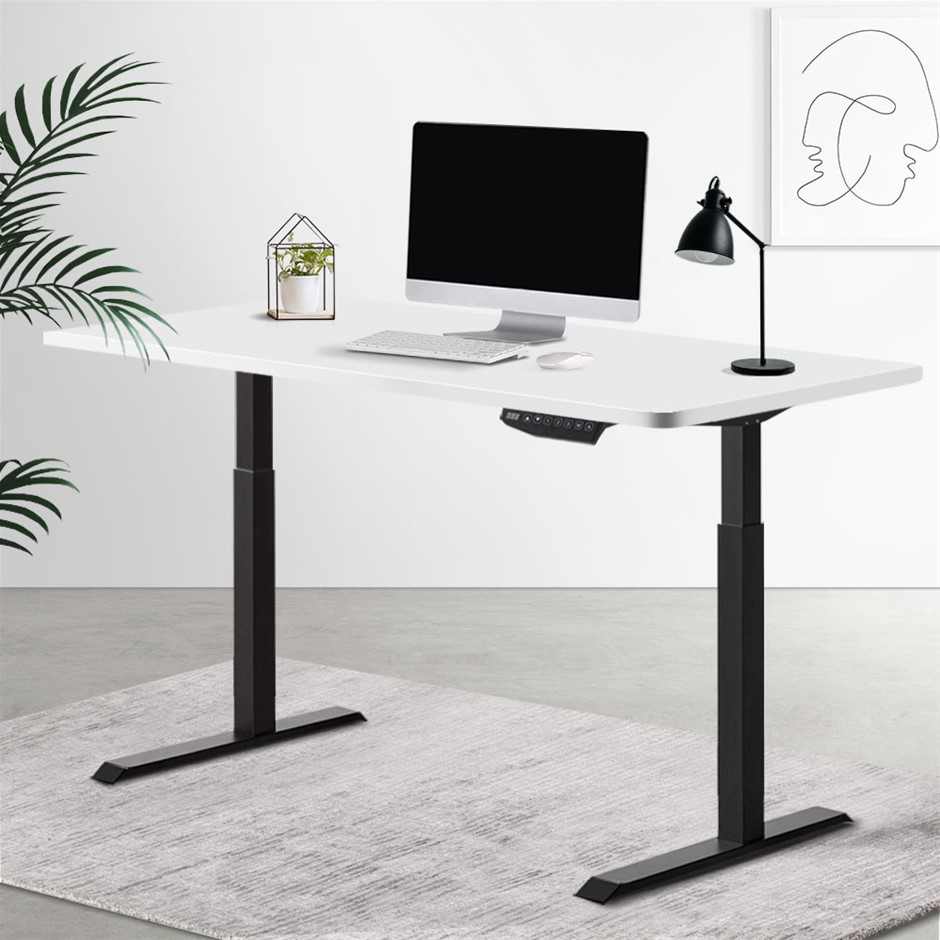 Artiss Standing Desk Sit Stand Riser Motorised Electric Computer Table