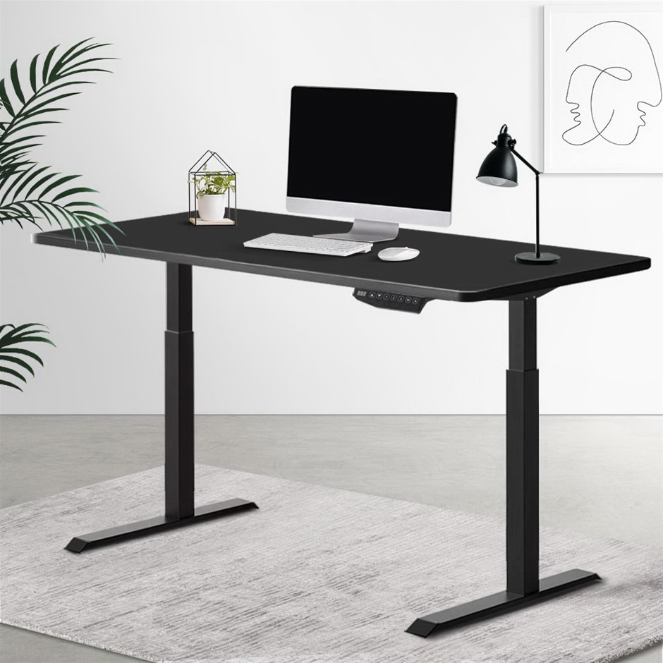 Artiss Standing Desk Sit Riser Motorised Computer Table Height Adjustable