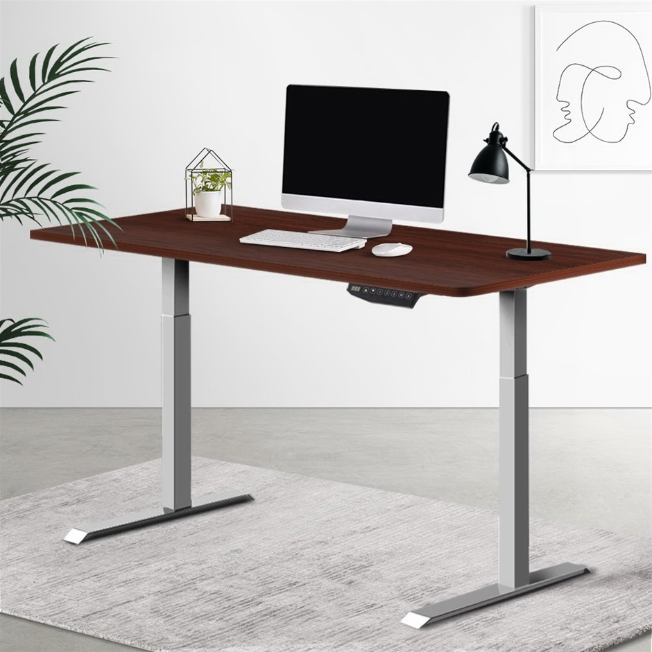 Artiss Standing Desk Motorised Height Adjustable Computer Table Riser