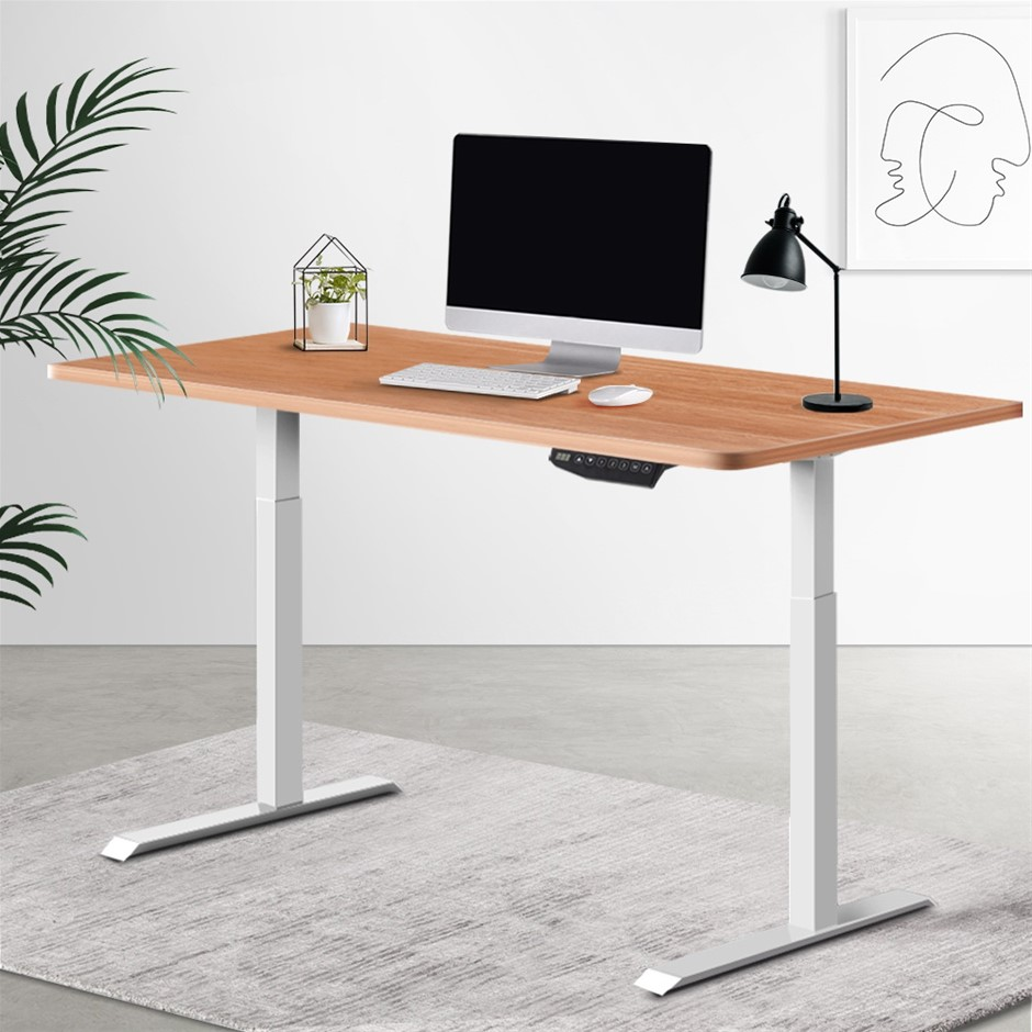 Artiss Standing Desk Motorised Sit Table Riser Electric Computer Desks