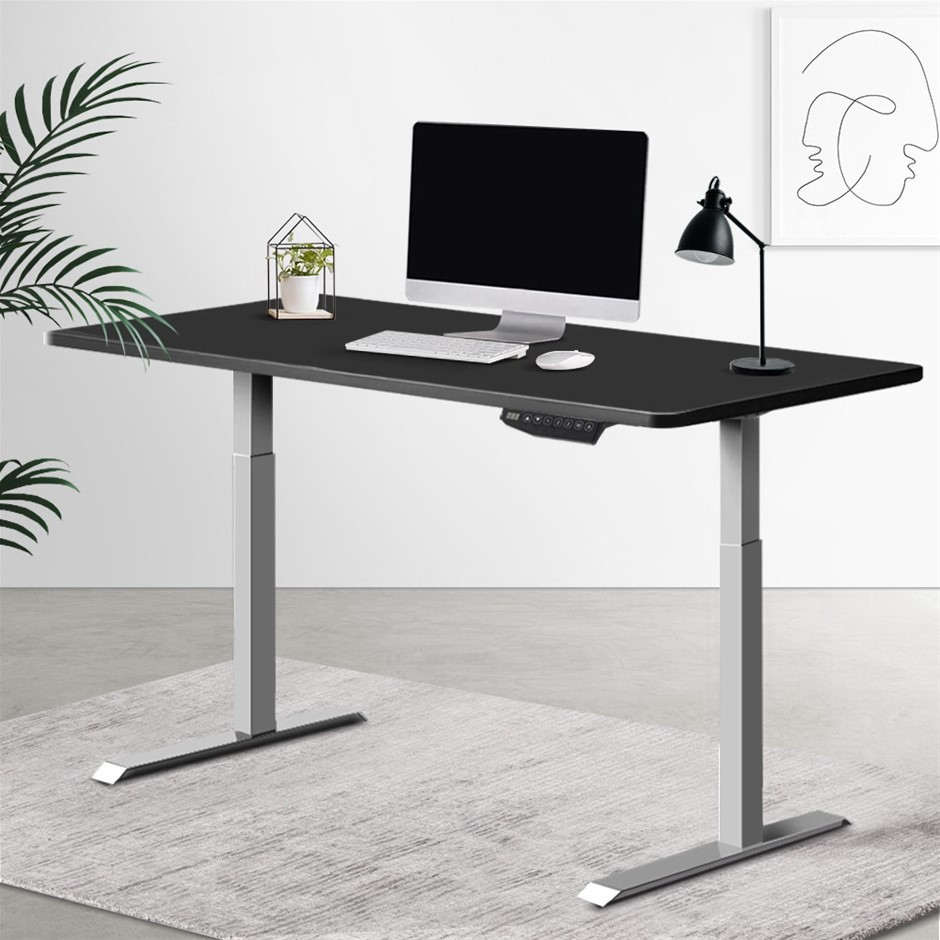 Artiss Standing Desk Motorised Sit Table Riser Adjustable Computer Desks