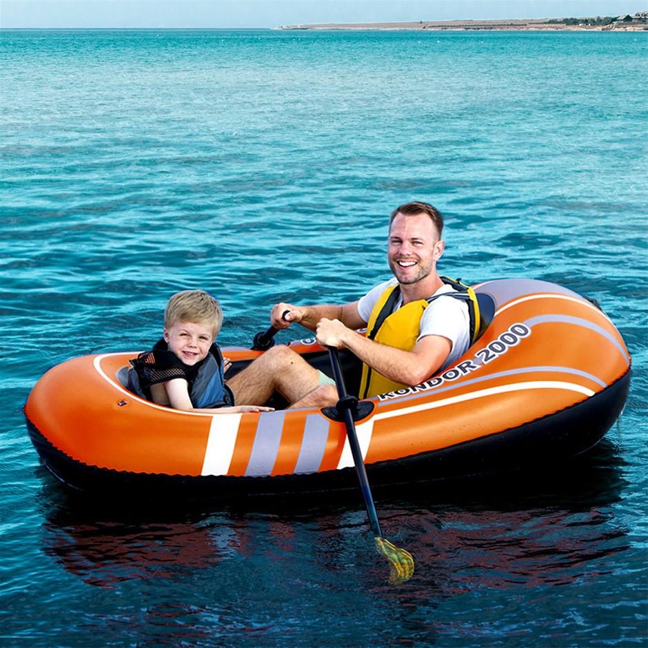 Bestway Kondor Inflatable Boat Floating Float Floats Water Pool Play