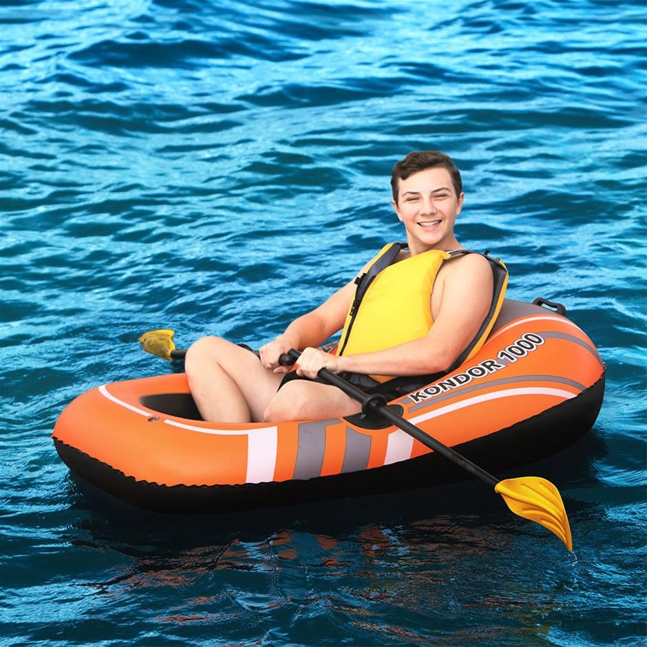 Bestway Kondor Inflatable Boat Float Floats Floating Water Play Pool Toy