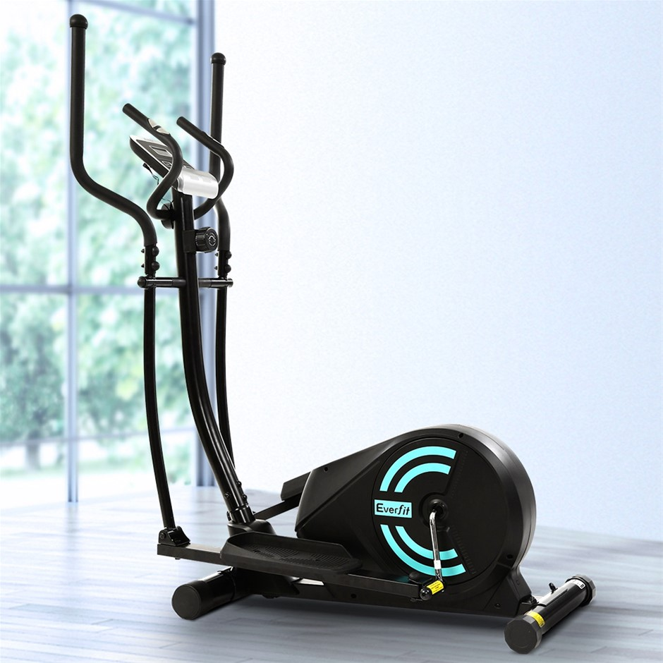 Everfit Exercise Bike Elliptical Cross Trainer Bicycle Home Fitness Machine