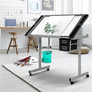 Artiss Drawing Desk Drafting Table Adjus