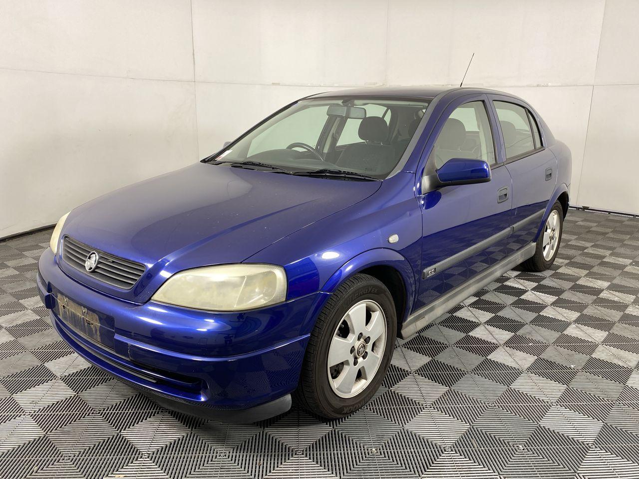 2004 Holden Astra CD TS Hatchback 84,147 km's (Servicere History)