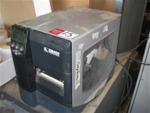 Label Printer Zebra Model ZM400, internal label roll feed to suit 100mm(w)