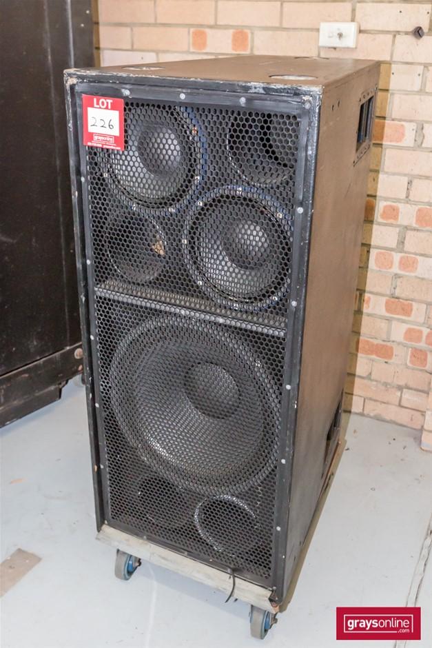 Richardson Audio C-40 Bass Speaker Cabinet