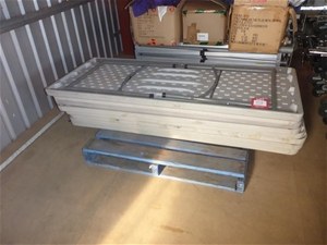 Approx 8 x Blow Mould Tables