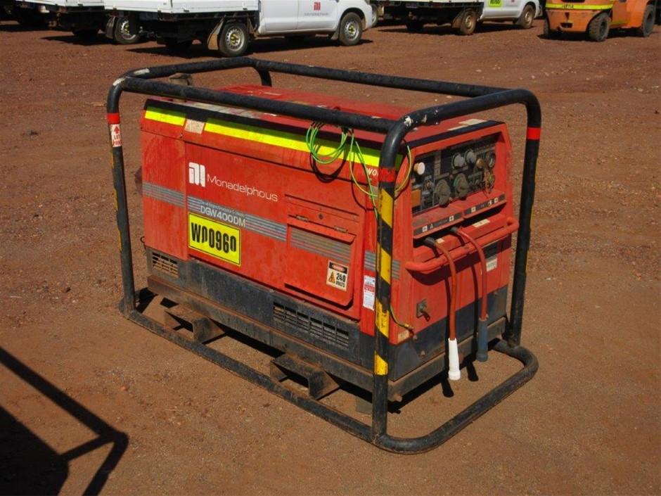 2010 Shindaiwa DGW400DM ECO Generator/Welder