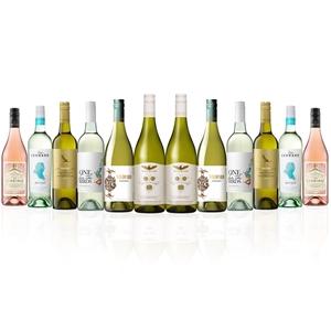 Premium Mixed White & Rosé Dozen (12x 75