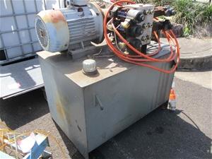 1 x Hydraulic Power Pack