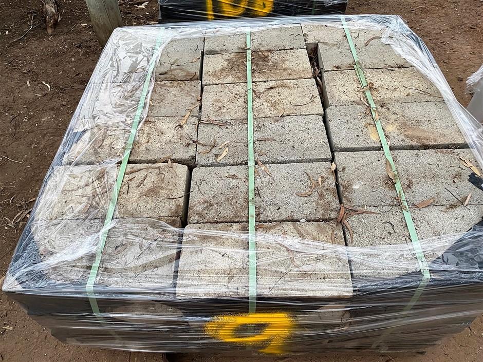 Pallet of Landscaping Blocks