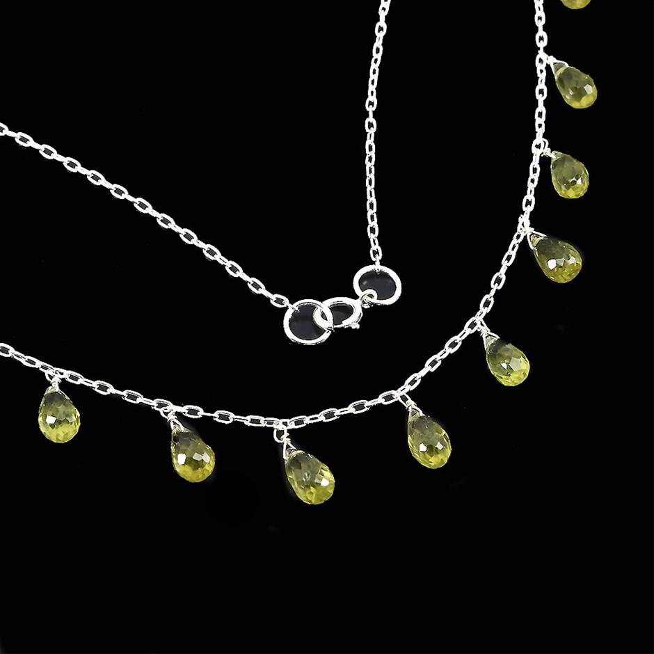 Beautiful Genuine Peridot Necklace
