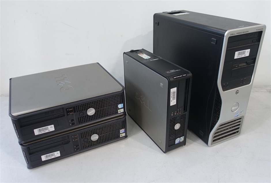 Bulk Lot Of Assorted Dell Desktops