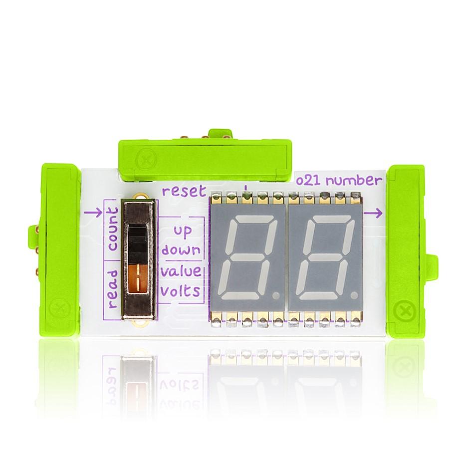 LittleBits Output Bits - Number