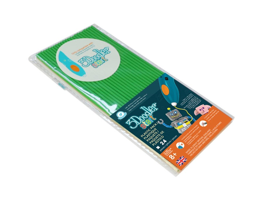 3Doodler Start Eco-Plastic-Spring Green