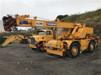 Tadano 15 tonne All-Terrain Mobile Crane
