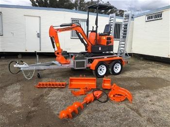 KOBOLT KX10 2020 Mini Excavator Package