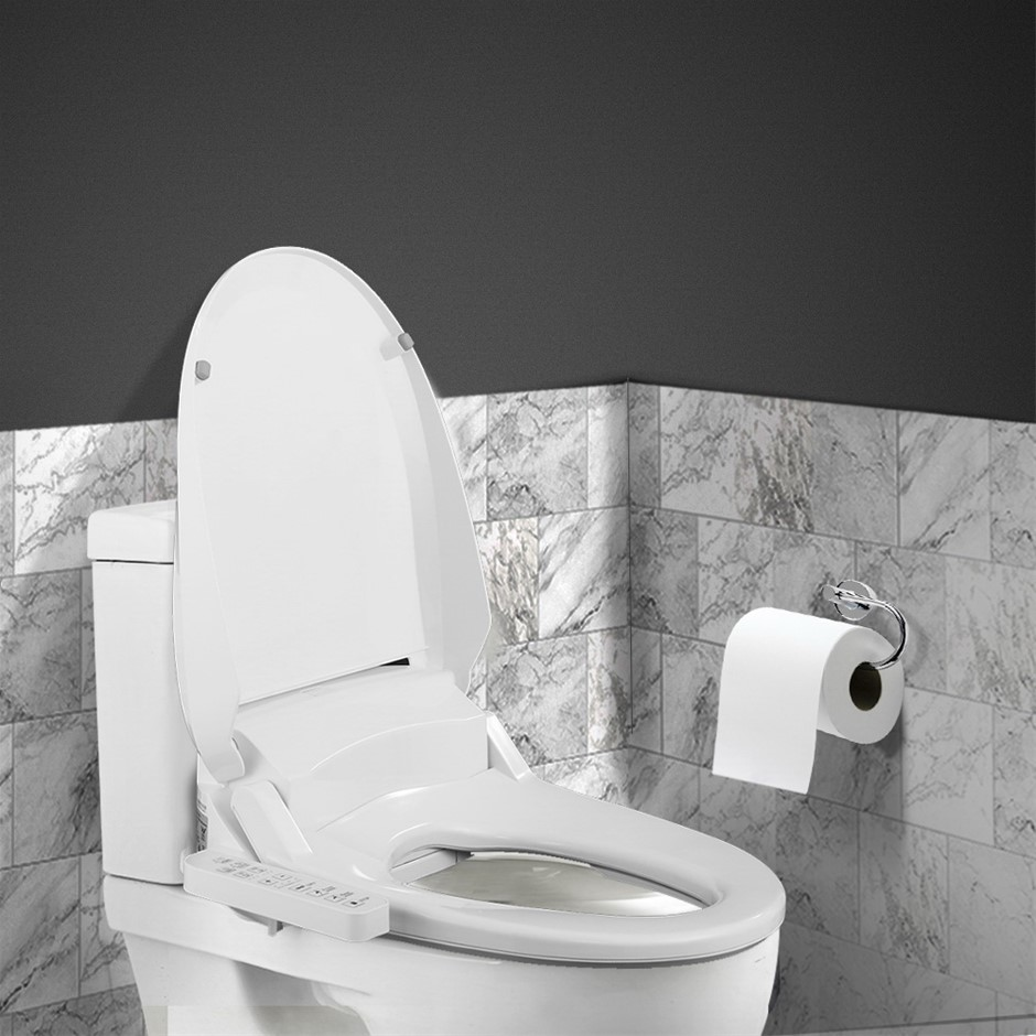 Electric Bidet Toilet Seat Cover Electronic Seats Paper Saving Auto Smart