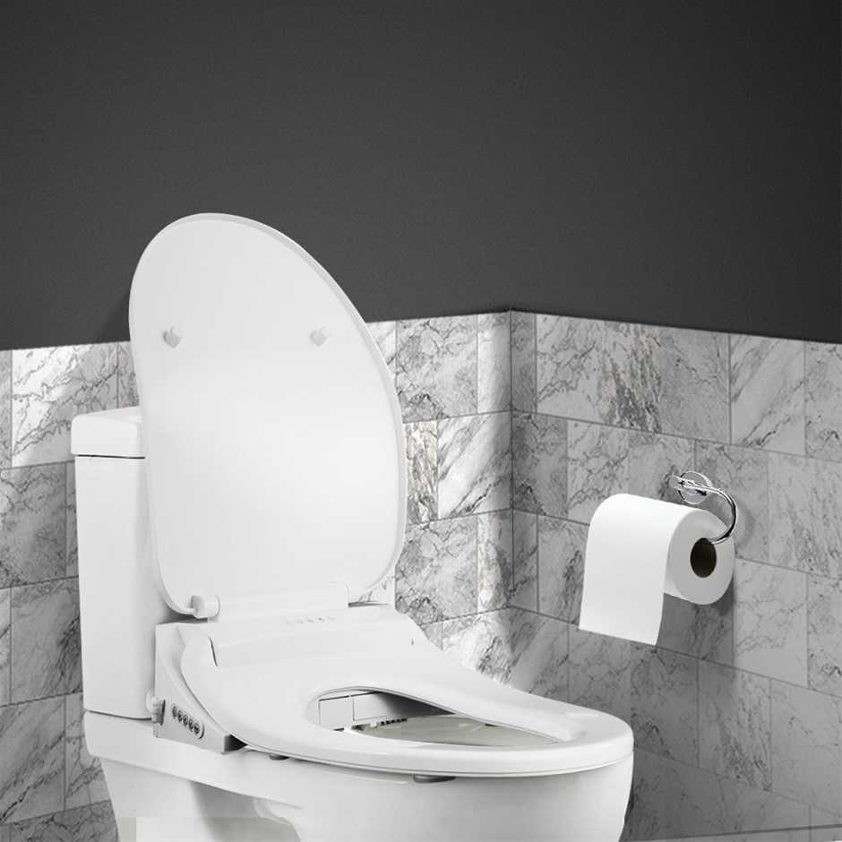Smart Electric Bidet Toilet Seat Cover Seats Paper Saving Auto Wash