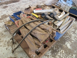Pallet of Assorted Trailer Components To