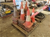 Pallet of Safety Cones