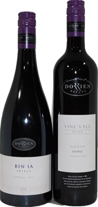 Pack of Assorted Dorrien Shiraz (2x 750m