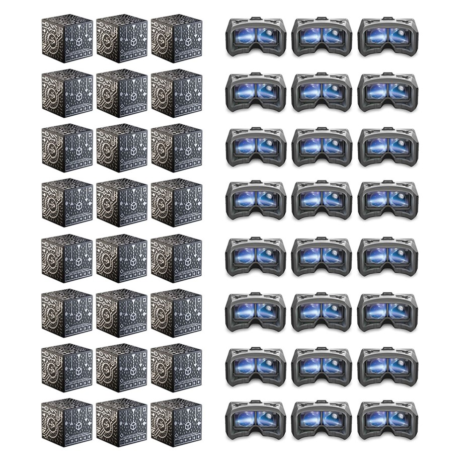 Merge VR Mobile AR/VR Headset & Merge Holographic Cube - 24 Pack of each