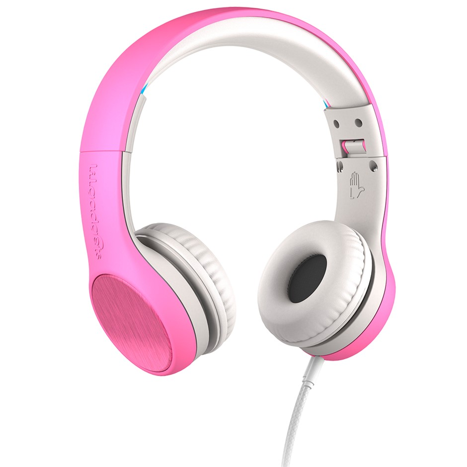 LilGadgets Connect+ Style Children's Wired Headphones - Pink