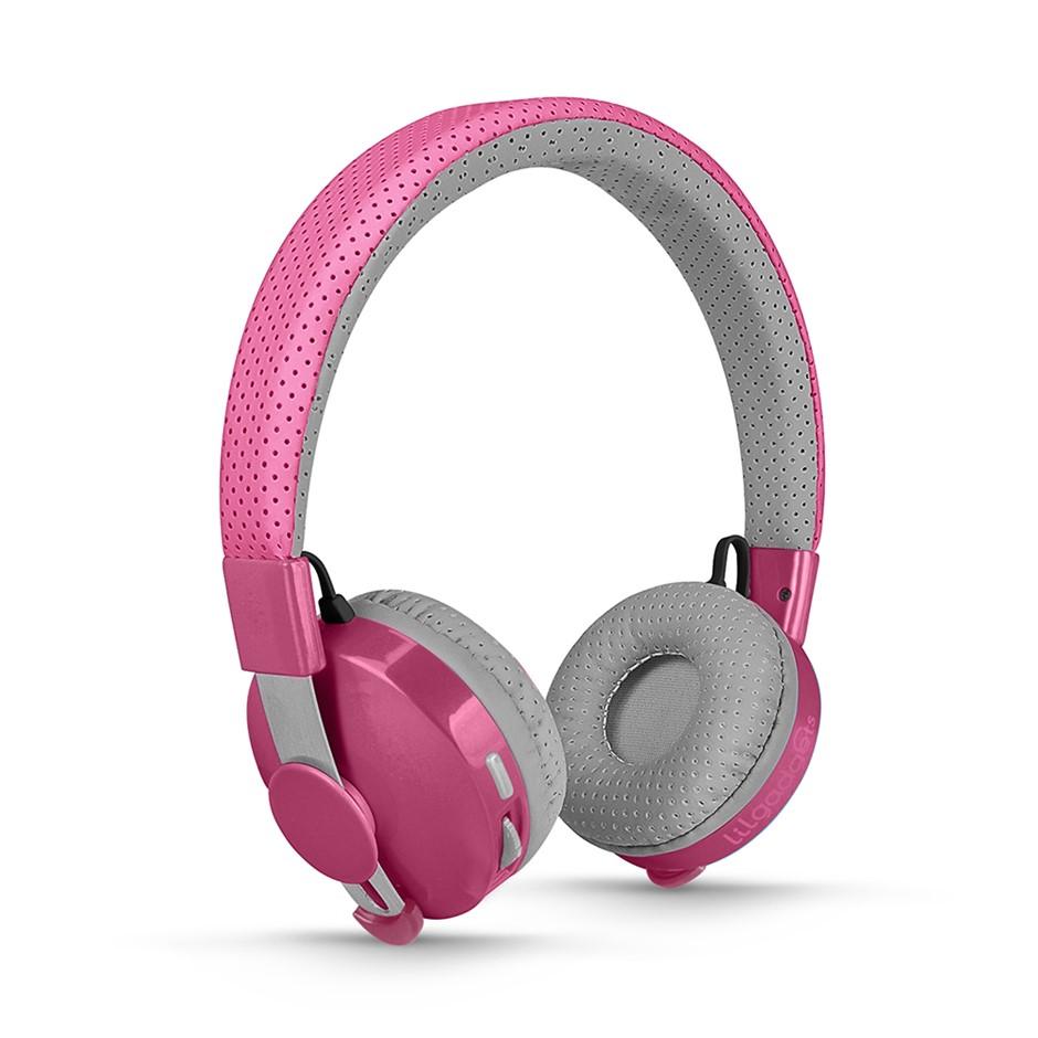 LilGadgets Untangled Pro Children's Wireless Bluetooth Headphones - Pink