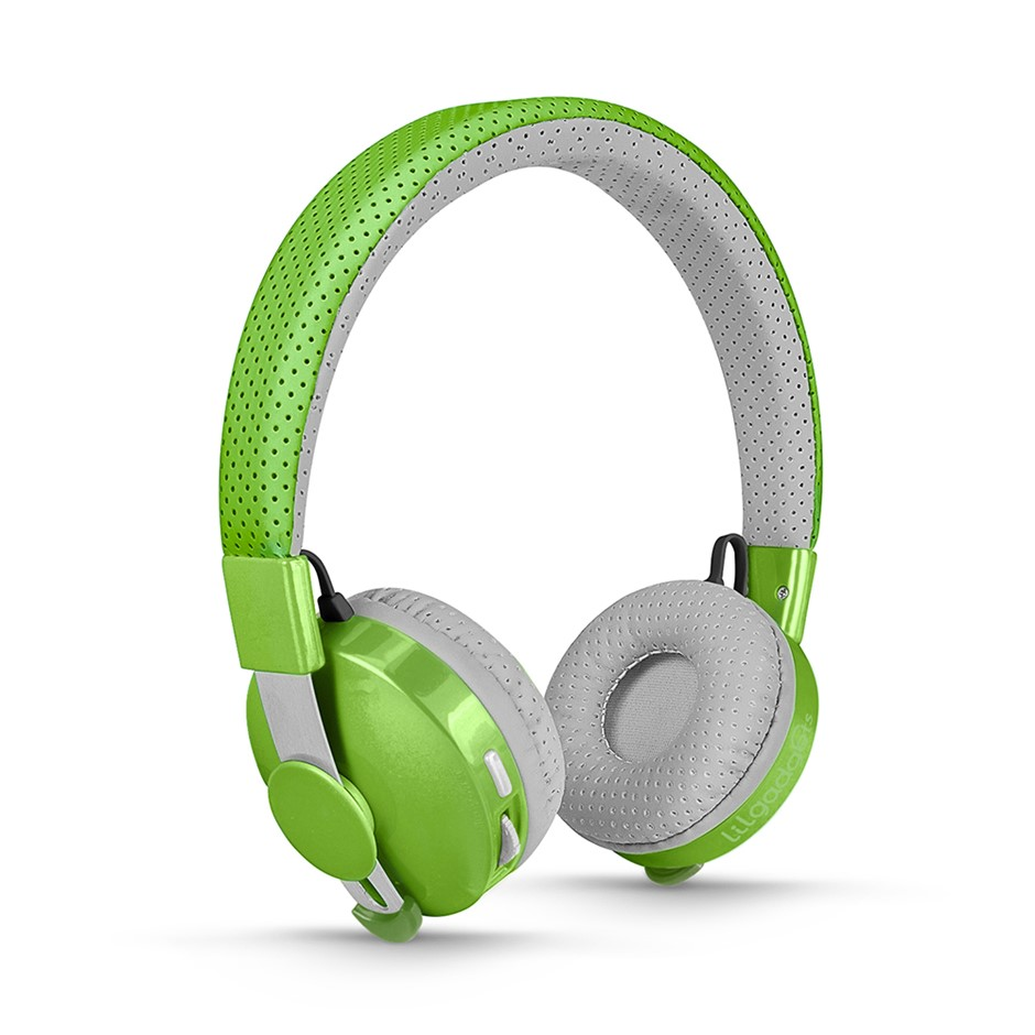 LilGadgets Untangled Pro Children's Wireless Bluetooth Headphones - Green