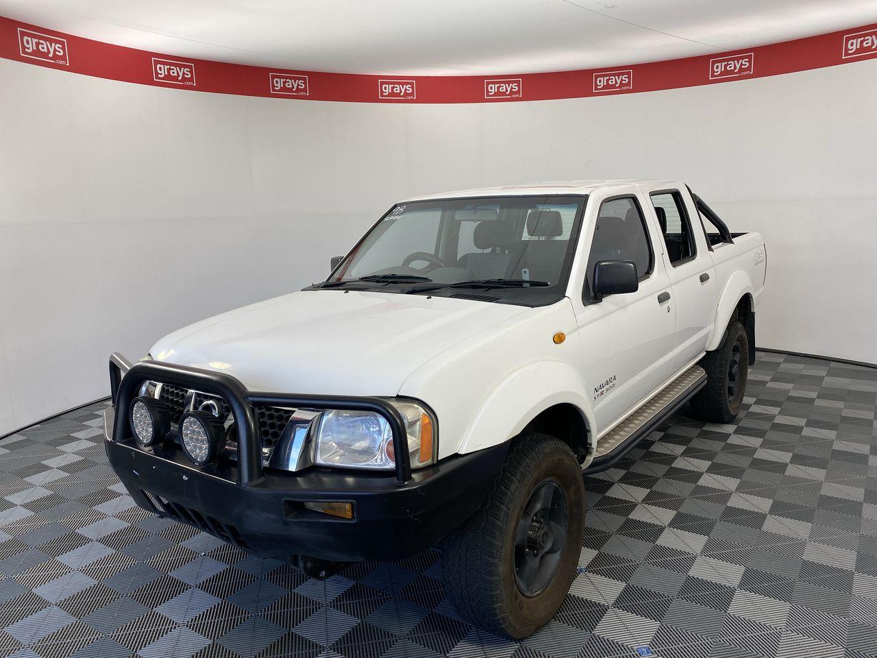 2010 Nissan Navara ST-R (4x4) D22 T/Diesel Man (WOVR-Repairable)