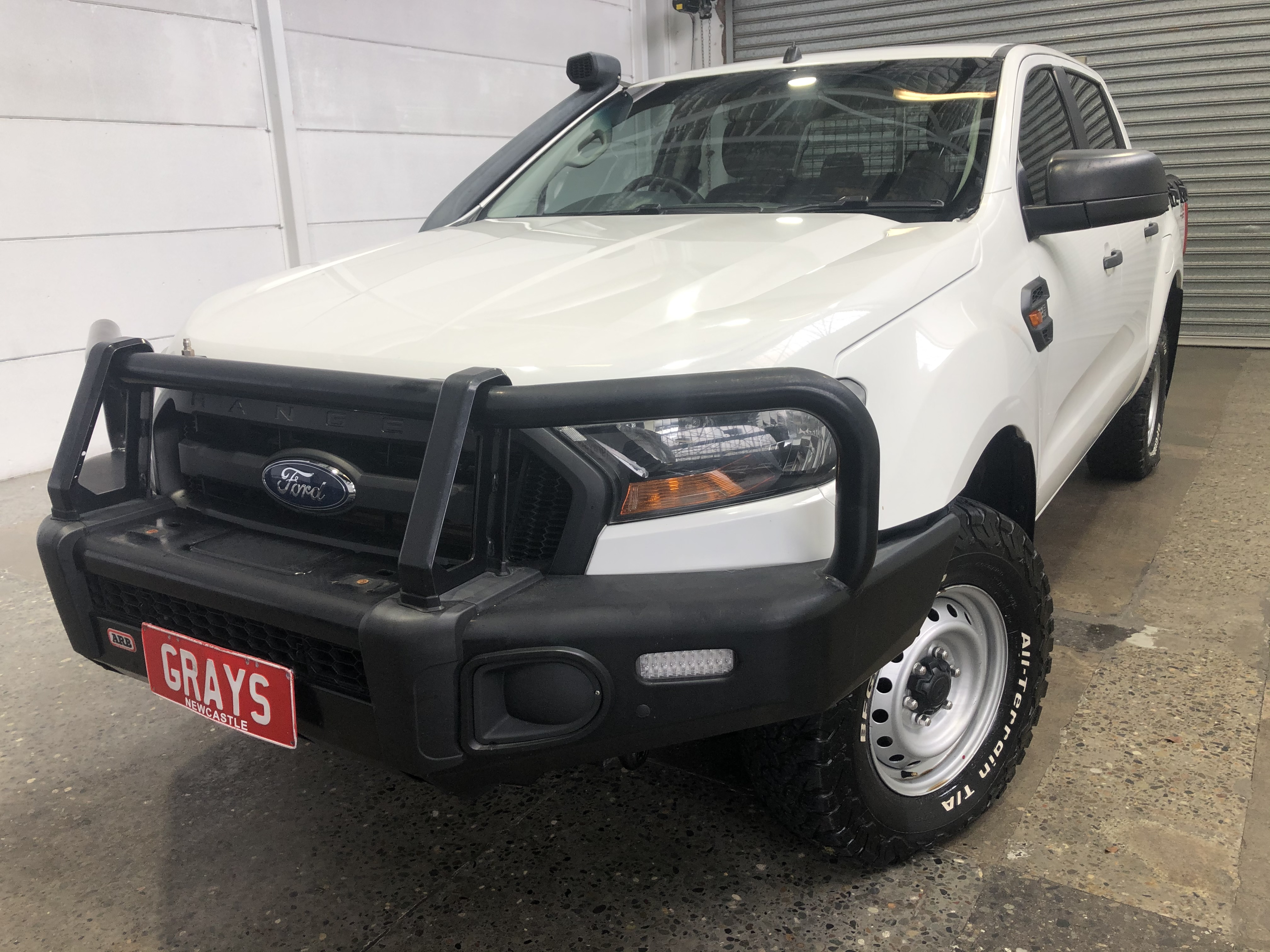 Ford Ranger XL 4X4 PX II Turbo Diesel Automatic Dual Cab
