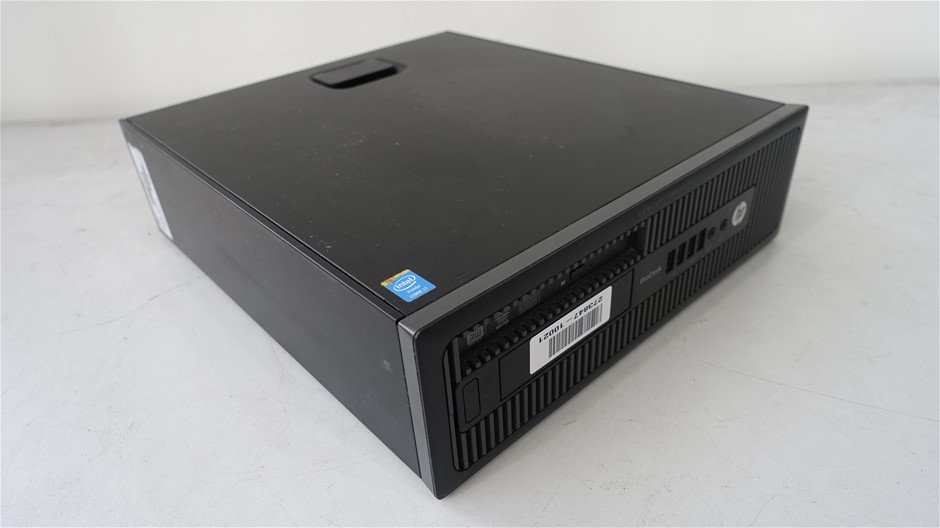 Hp Pro Desk 600 G1 SFF Desktop Pc ( C8T89AV )