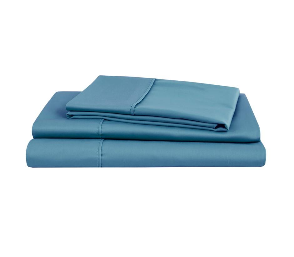 Natural Home Organic Cotton Sheet Set Double Bed NIAGARA