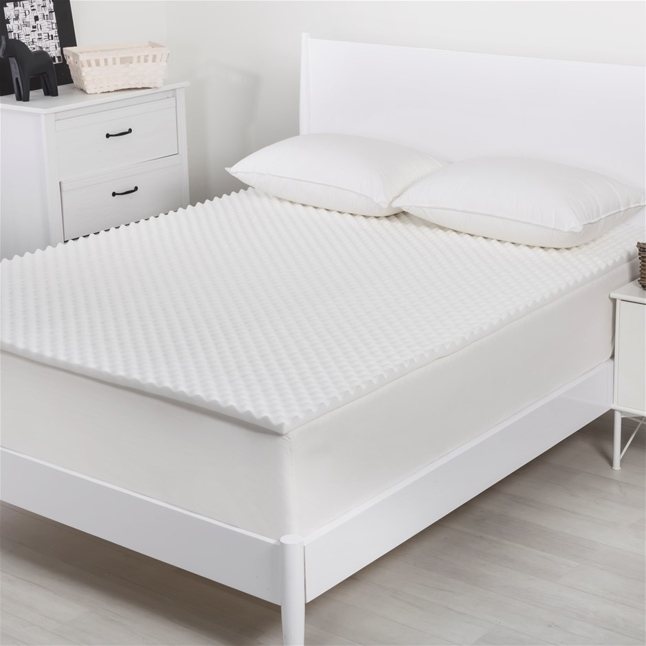 Dreamaker Convoluted Foam Underlay King Bed