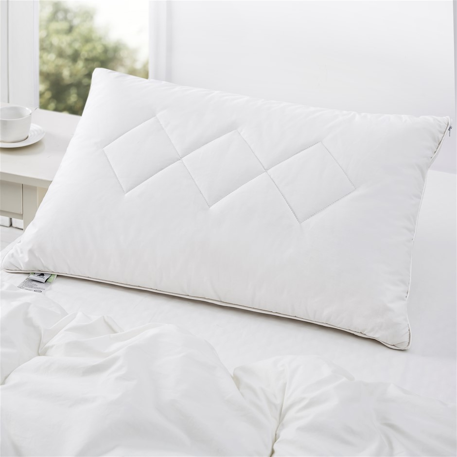 Wooltara Premium Australian Wool Surround Latex Pillow